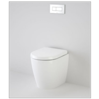Caroma Compact Urbane Invisi In Wall Toilet Package