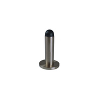 Door Stop Wall Mounted - Gun Metal Grey