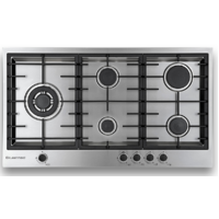 Kleenmaid 90 cm Gas Cooktop Stainless Steel - GCT9030