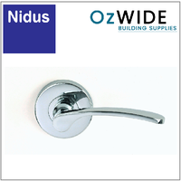 Nidus Capri Passage Door Handle - Chrome