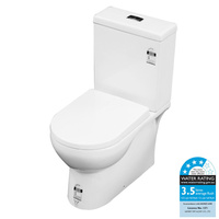 Castano Sierra Quality Wall Faced Toilet Suite S or P Trap Universal Water Inlet