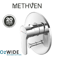 Methven Spirit Shower Bath Mixer & Diverter Chrome Bathroom 20 Year Warranty