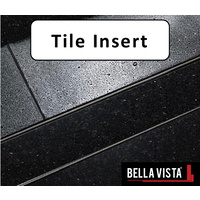 Architectural Tile Insert Floor Grate Stainless Steel - Linear