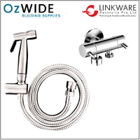 Linkware Bidet & Dual Mini Cistern Cock Set - Chrome