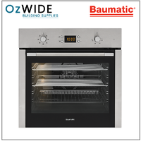 Baumatic 60 cm Oven Stainless & Black - RM07